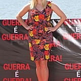 Reese Witherspoon wore a floral dress.