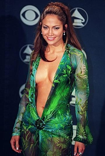 Jennifer Lopez YouTube Video About Her Grammys Versace Dress
