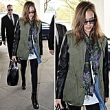 Best Celebrity Street Style of 2012: Jessica Alba