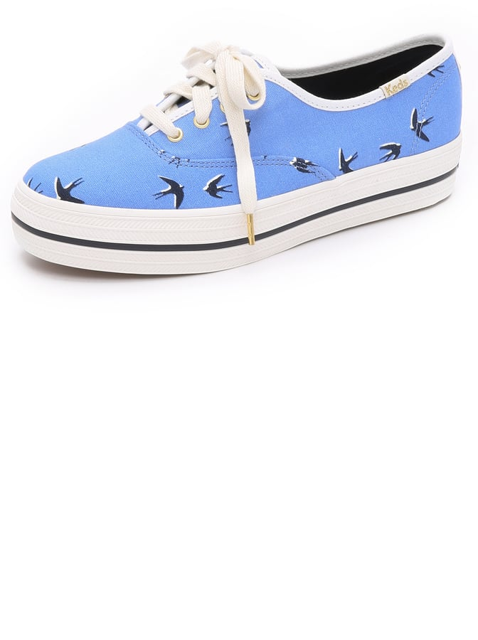 Kate Spade New York Keds for Triple Kick Swallow Sneakers ($85)
