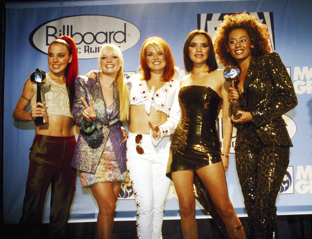 The Spice Girls Came All the Way From the UK to Spice Up the 1997 Awards