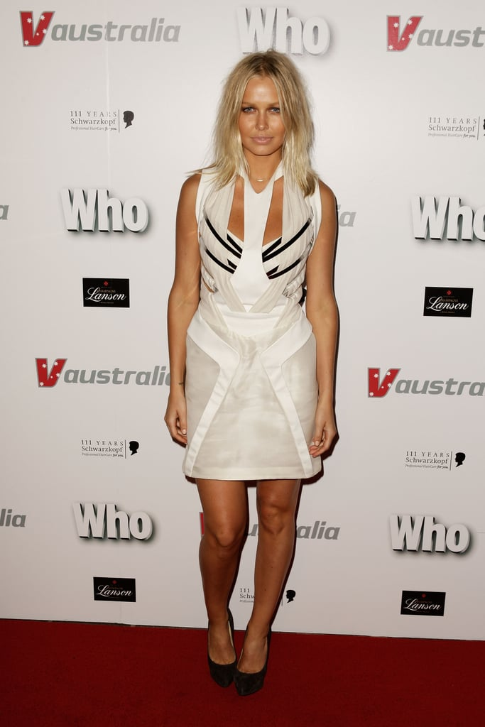 Lara Bingle at a Who Magazine Sexiest People Party