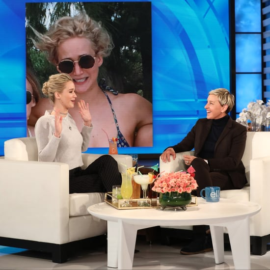 Jennifer Lawrence on The Ellen DeGeneres Show March 2018