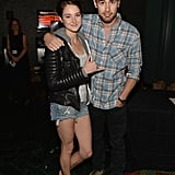 Shailene Woodley kept it chill when she and Theo James met up for a Divergent screening in Thousand Oaks, CA, on Monday.