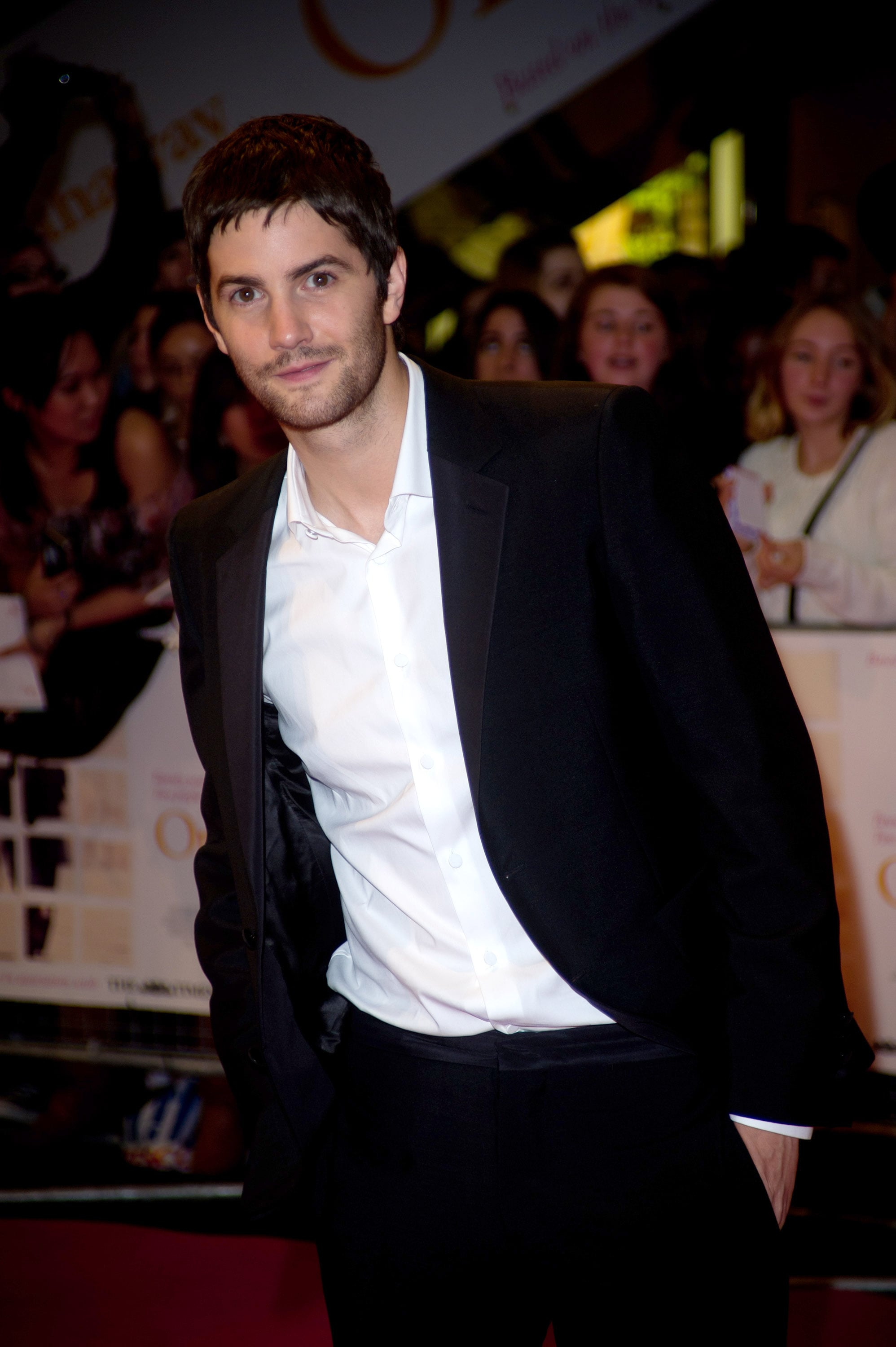 Jim Sturgess stepped out on the red carpet.