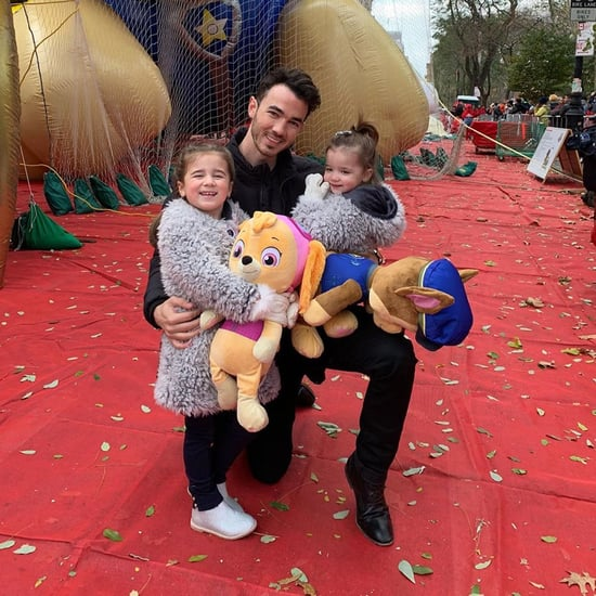 Cute Pictures of Kevin Jonas With His Kids