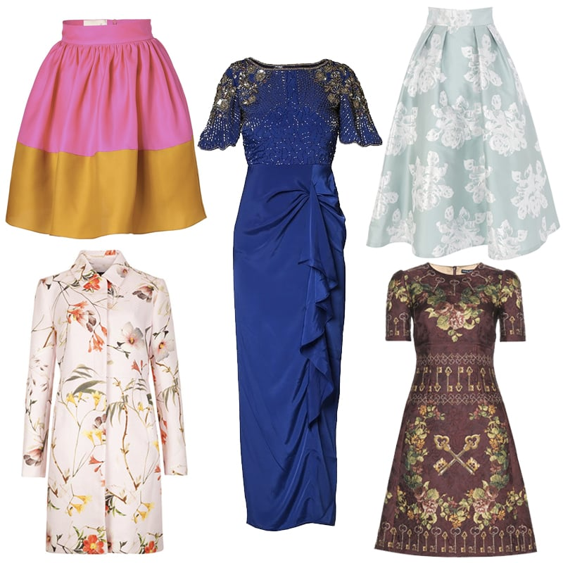 What to wear to a winter wedding popsugar fashion uk for Winter wedding guest dresses