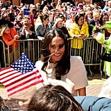 Meghan Markle Greeting the Crowd 2018