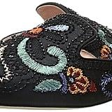 Alberta Ferretti Color Embroidered Mule Women's Clog Shoes