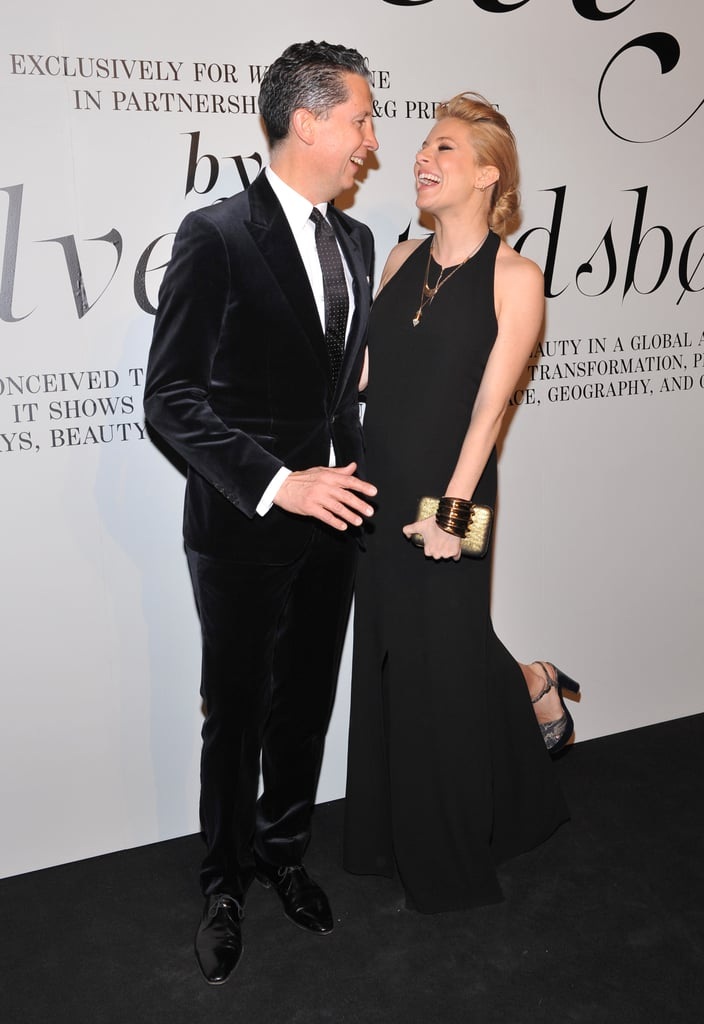 Sienna Miller and Stefano Tonchi attended an NYC bash.