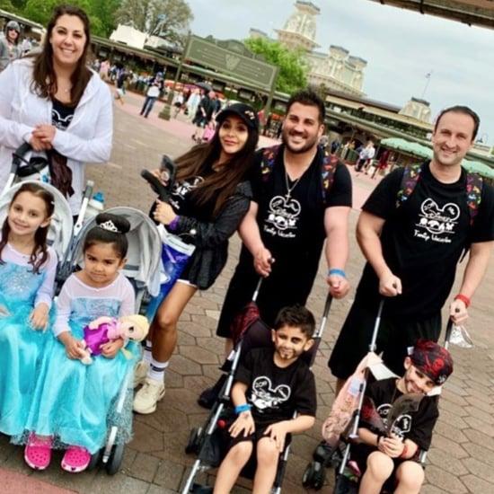 Snooki Uses Strollers at Disneyland