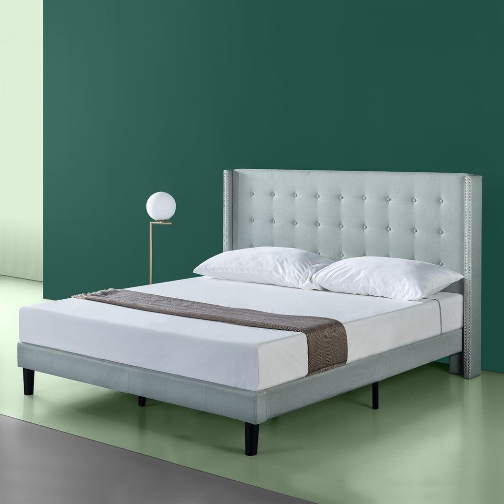 Zinus Kendra Upholstered Grand Platform Bed