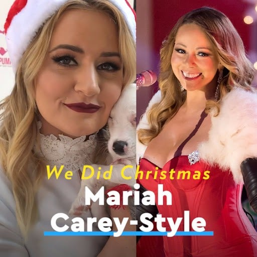 "Mariah Carey ""All I Want For Christmas"" Interview"