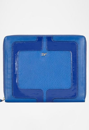 This vibrant, cobalt-blue leather case will make you the talk of the office boardroom.
