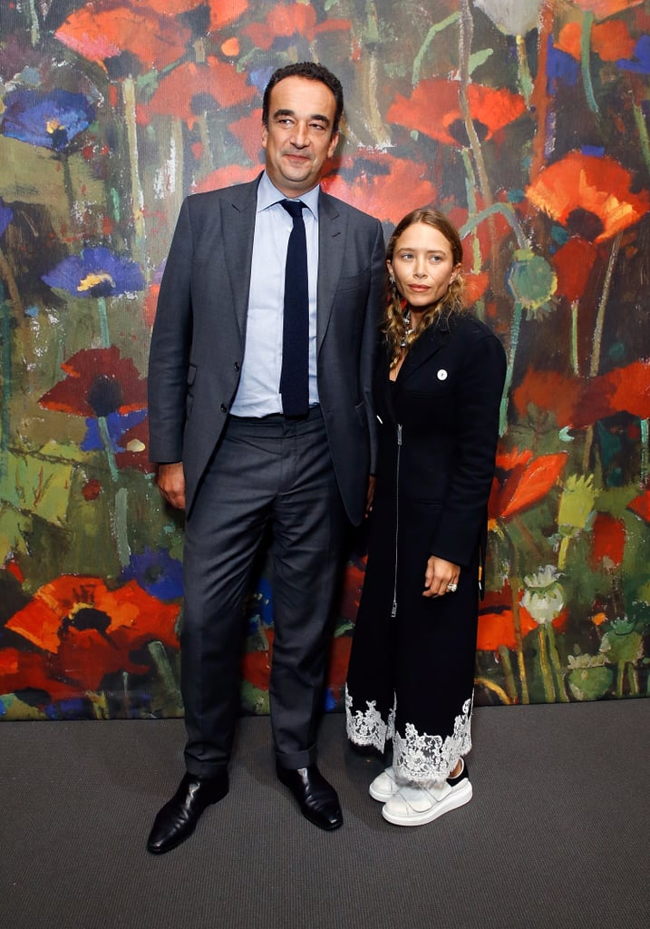 Mary-Kate Olsen Wearing Alexander McQueen Velcro Sneakers