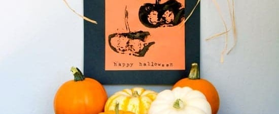 Easy Halloween Pumpkin Art For Kids