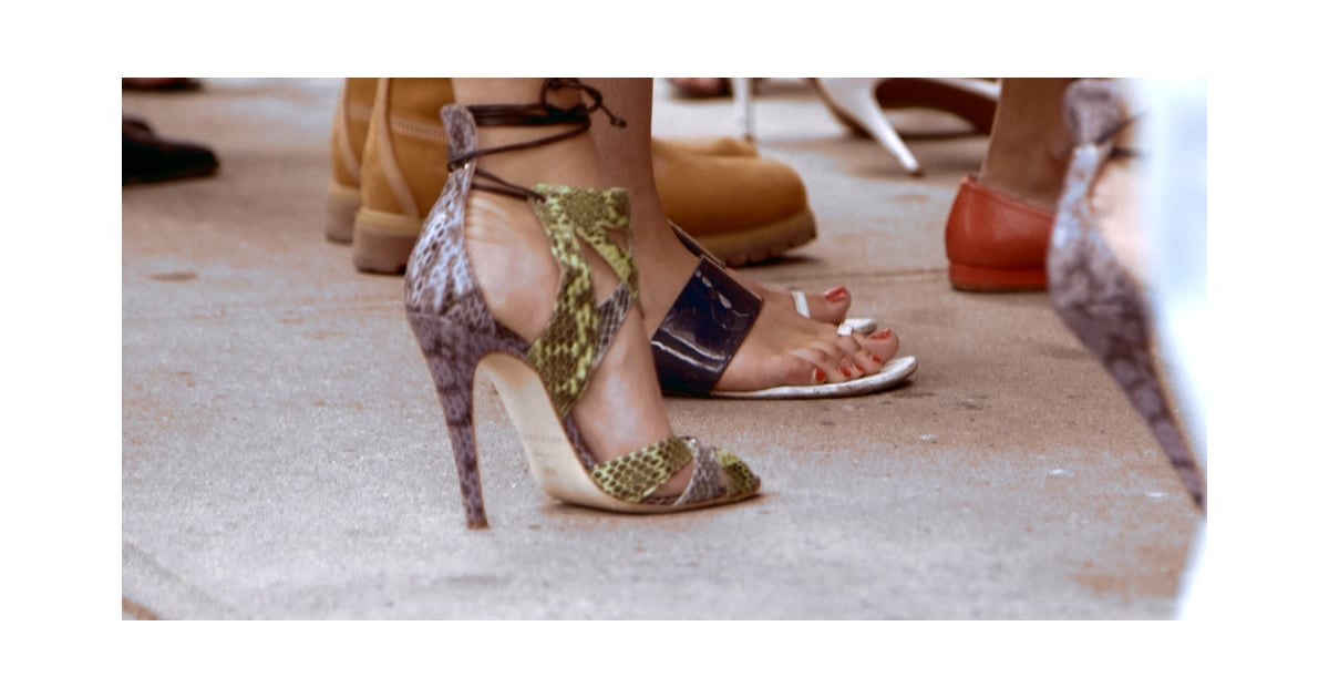 Best Street Style Shoes From New York Fashion Week 2014 Popsugar Fashion