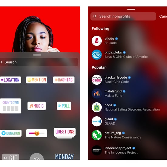 Instagram Introduces Donation Stickers to Stories