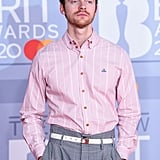 Finneas O'Connell at the 2020 BRIT Awards in London