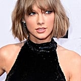 Taylor Swift's Textured Bob and Bangs in 2016