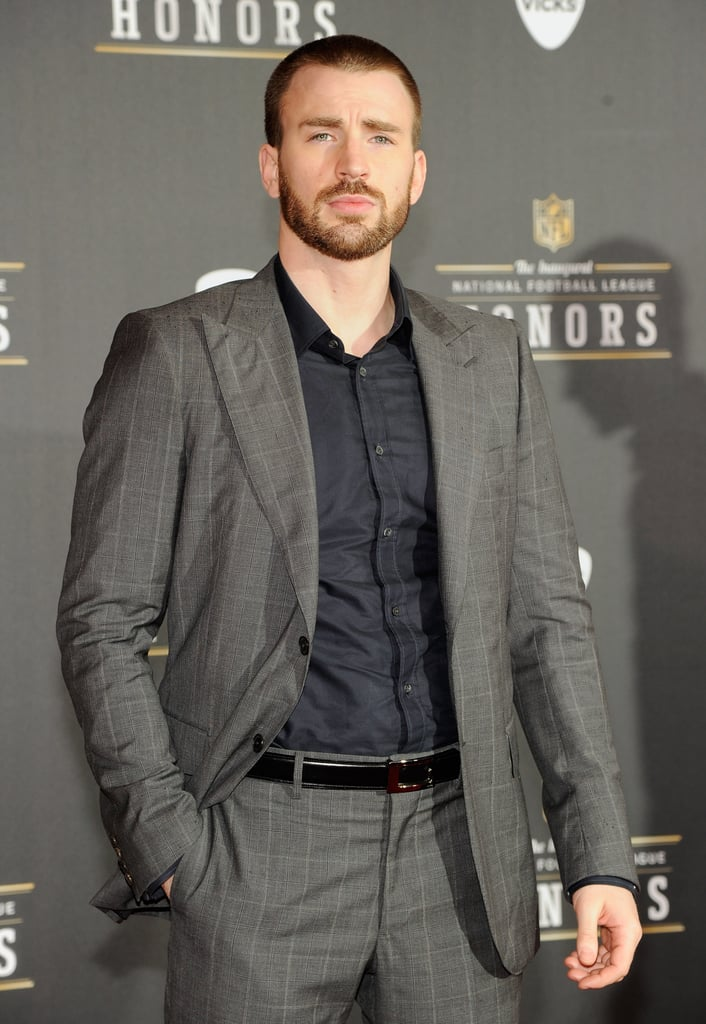 Jon Hamm, Chris Evans, and More Gear Up For the Super Bowl With NFL Honors