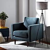 Rivet Revolve Modern Accent Chair