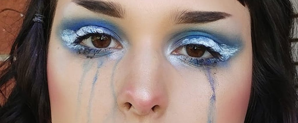 Halloween Watercolor Makeup Ideas