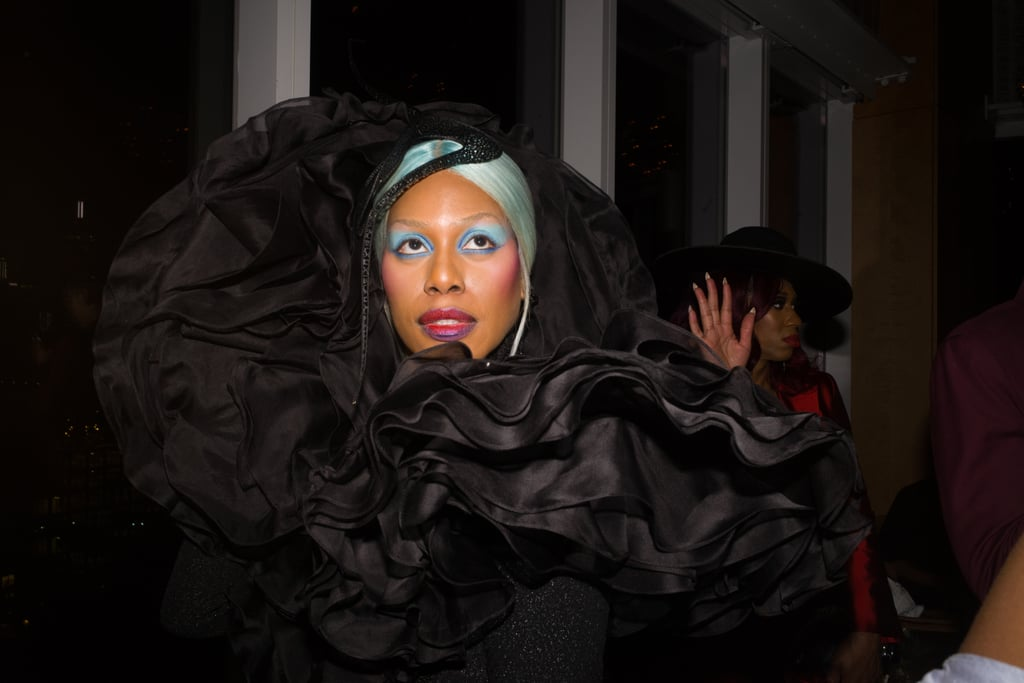 Laverne Cox at the Met Gala Afterparty