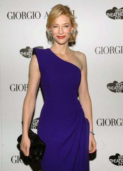 Giorgio Armani Hosts Dinner for December Vogue Cover Girl Cate Blanchett