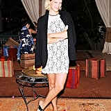 Léa Seydoux wore Diane von Furstenberg at aSmallWorld's relaunch party at the Beldi Country Club in Marrakech, Morocco. Source: Billy Farrell/BFAnyc.com