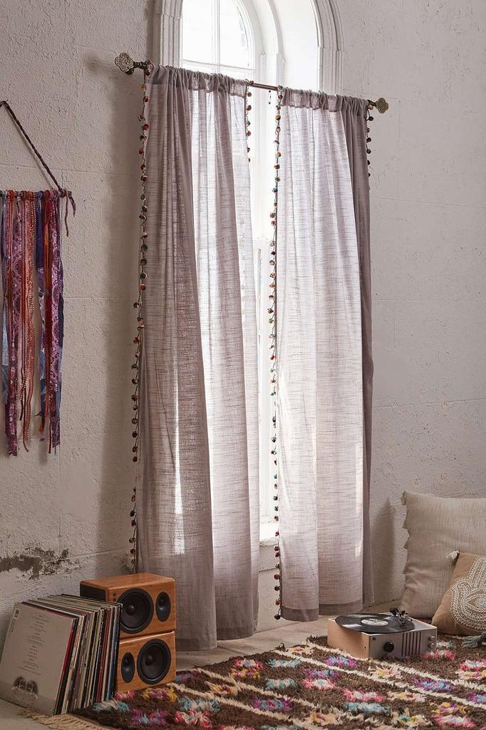 Bedroom: Hang Curtains