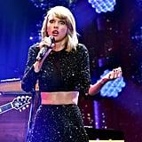 Taylor Swift Shakes Off Those Kissing Rumors at the Jingle Ball Concert