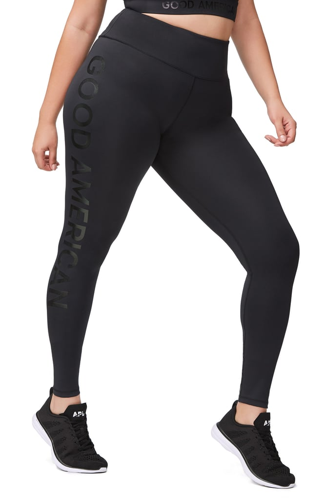 Reflective High-Waist Leggings