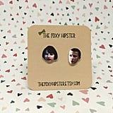 Stranger Things Mike and Eleven Stud Earrings