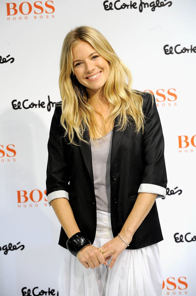 Sienna Miller Pimps Hugo Boss