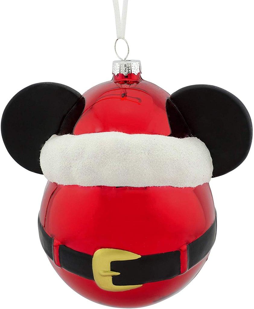 Disney Mickey Mouse Glass-Blown Ornament