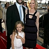 Judd Apatow and Leslie Mann (With Maude Apatow!) in 2005