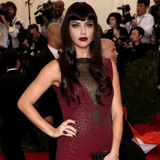 Adriana Lima's Different Looks