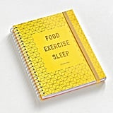 PaperSource Food Exercise Sleep Wellness Journal