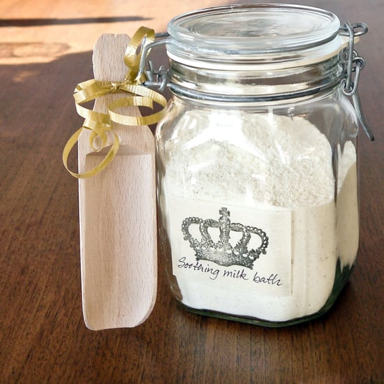 DIY Soothing Milk Bath