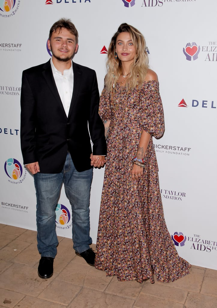 Paris and Prince Jackson Holding Hands on the Red Carpet