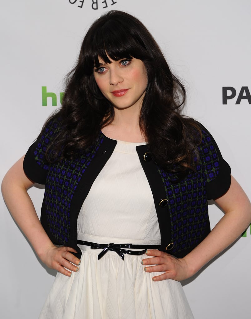 Zooey Deschanel said she'd love to have her sister Emily make a cameo on New Girl.
