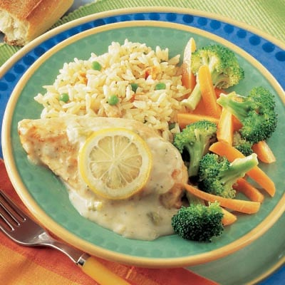Campbell's Summer Recipes, Lemon Broccoli Chicken