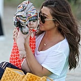 Kourtney Kardashian has double the reasons to celebrate after welcoming her second child, Penelope Disick, in July 2012.