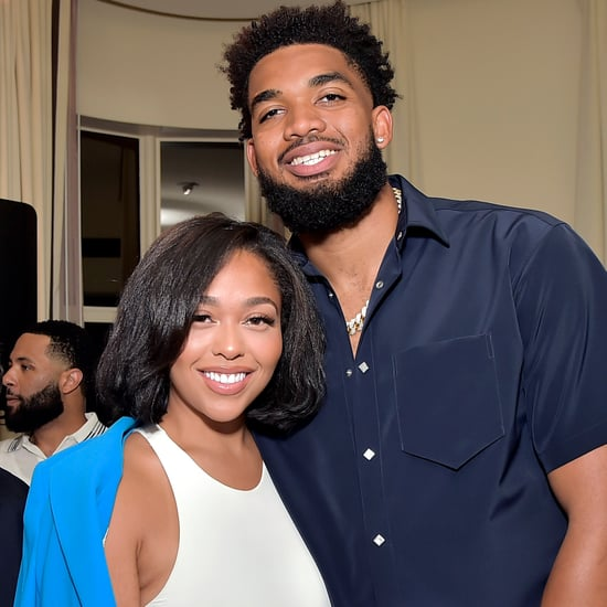 Jordyn Woods and Karl-Anthony Towns | Hall of Fame Induction