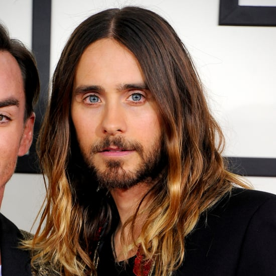 Jared Leto's Hair and Makeup at the Grammys 2014