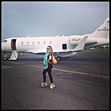 Sofia Vergara got ready to jet off to Mexico. Source: Instagram user sofiavergara