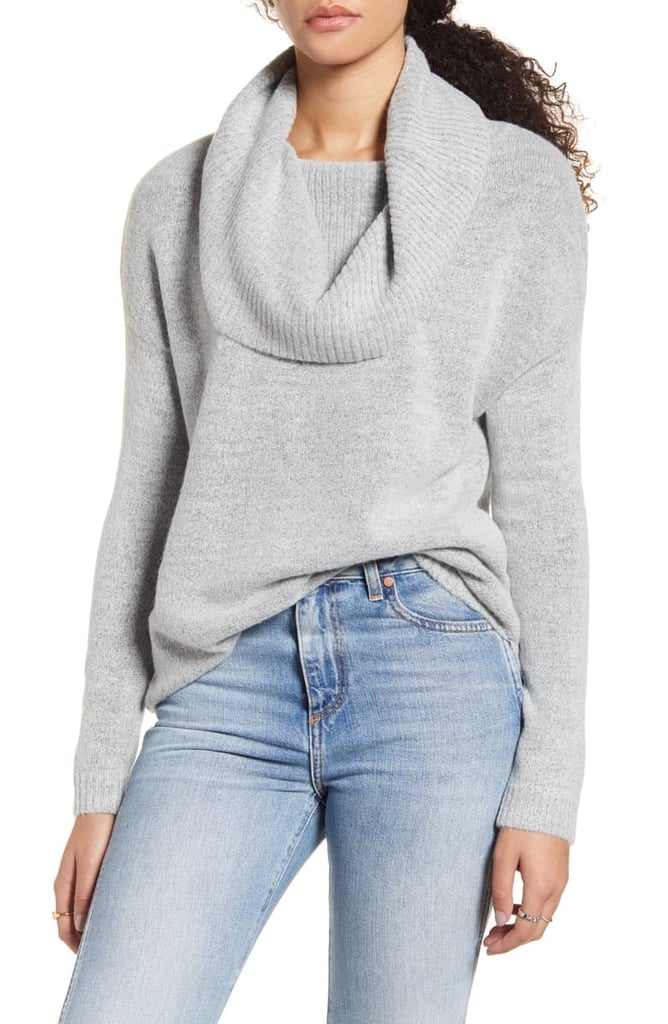 Dreamers by Debut Cowl Neck Sweater