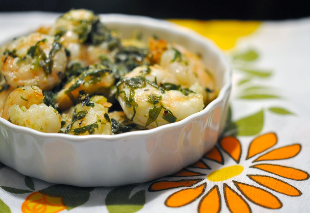 Sunday: Baked Shrimp With Herbs