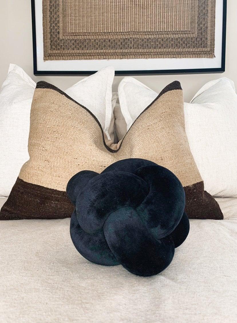 The Knot Pillow Review Popsugar Home
